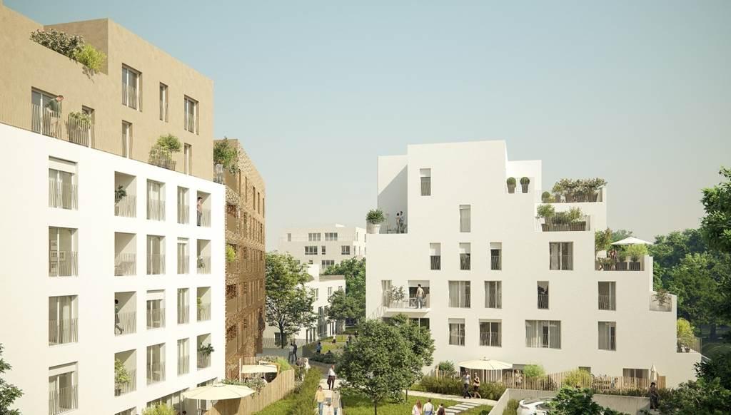 Construction de plus de 1000 logements - Coudes Cornettes -  Romainville-1