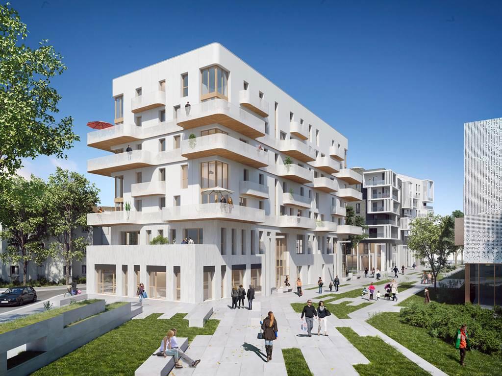 Construction de plus de 1000 logements - Coudes Cornettes -  Romainville-2