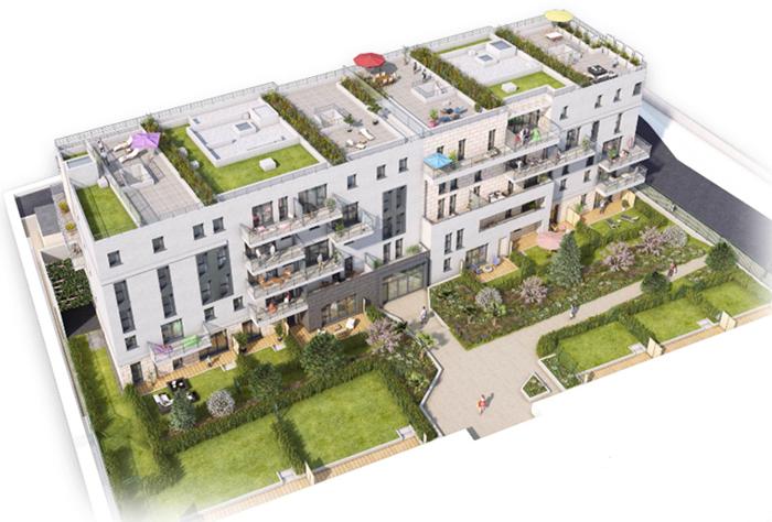 Construction de logements - Garches-0