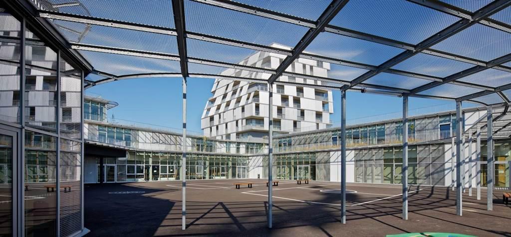 Groupe scolaire / Gymnase / Résidence étudiante - Ivry-sur-Seine-0