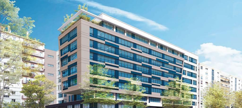 Construction de bureaux le Fairway - Montrouge-0