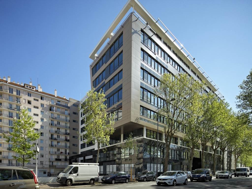 Construction de bureaux le Fairway - Montrouge-1